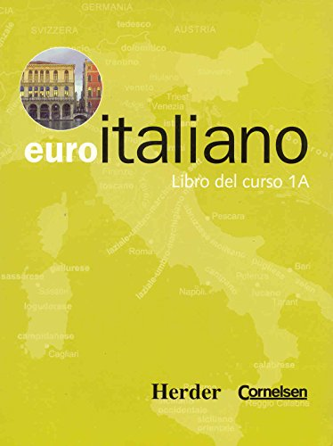Euro italiano - Libro del curso 1A: VV.AA