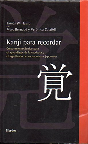 Kanji para recordar: Heisig, James W.