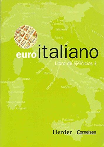 Euro italiano. Libro de ejercicios.: Cañada, Montse