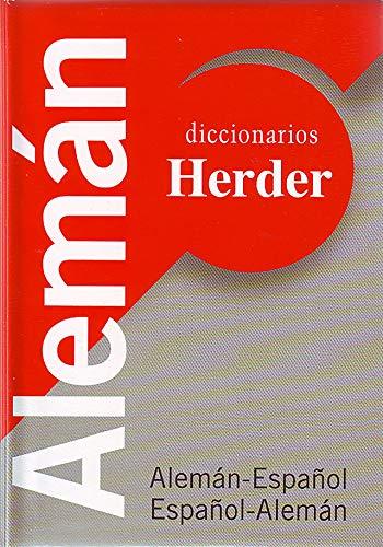 9788425422409: Diccionario universal Herder, alemán-español/español-alemán