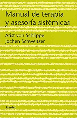 9788425422799: Manual de terapia y asesoría sistémicas