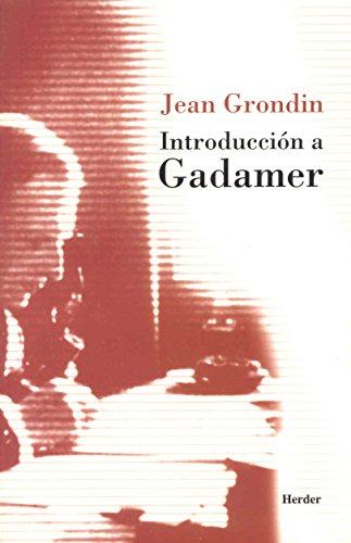 9788425422980: Introducción a Gadamer
