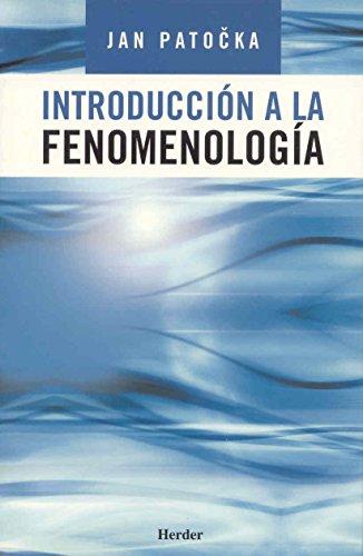 Introducción a la fenomenología [Sep 25, 2005]: Jan Patocka