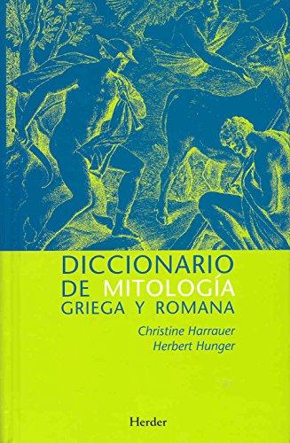 9788425424182: Diccionario de mitología griega y romana. Con referencias sobre la influencia de