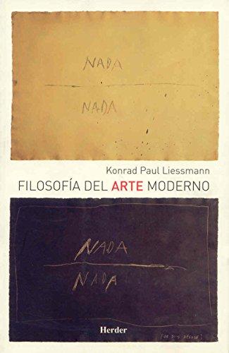 9788425424588: Filosofía del arte moderno