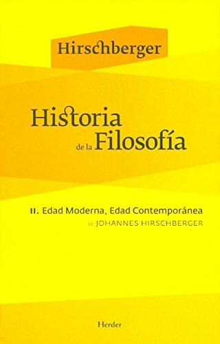 9788425425042: Historia de la filosofía. Tomo II