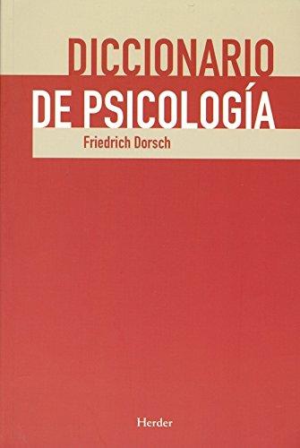 9788425425745: Diccionario de psicologia (Spanish Edition)