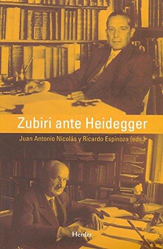 9788425425776: Zubiri ante Heidegger