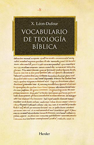 Vocabulario de teologia biblica / Vocabulary of Biblical Theology (Spanish Edition): Xavier Leon ...