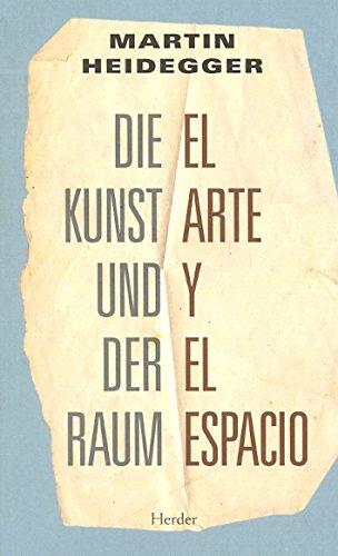 9788425426469: Arte y el espacio. Die Kunst und der Raum