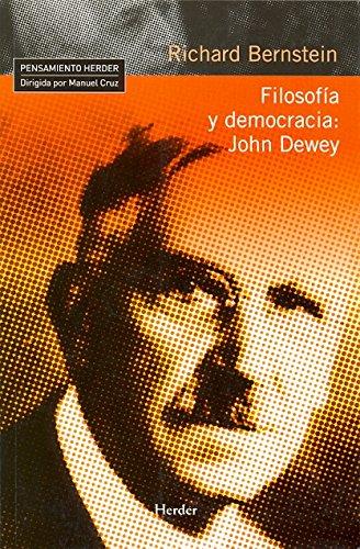 9788425426612: Filosofía y Democracia: John Dewey (Spanish Edition)
