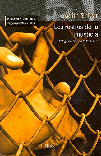 9788425427299: Los rostros de la injusticia (Pensamiento Herder)