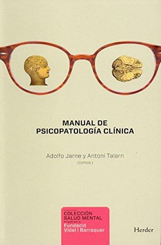 9788425427589: Manual de Psicopatología clínica