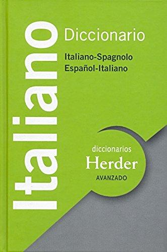 9788425427978: Diccionario Avanzado Italiano. Italiano-Spagnolo/Español-Italiano (Diccionarios Herder)