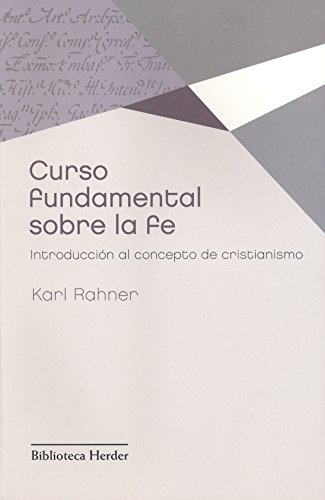 9788425428630: Curso fundamental sobre la fe (Spanish Edition)