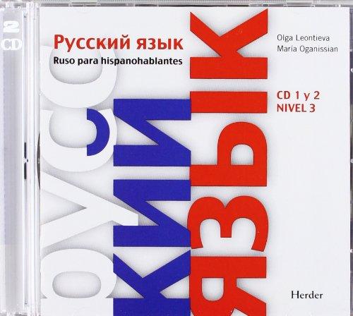 9788425428739: Ruso para hispanohablantes: CD 1 y 2 Nivel 3