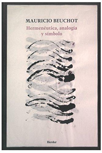9788425432668: Hermenéutica, analogía y símbolo (2ª ed.)