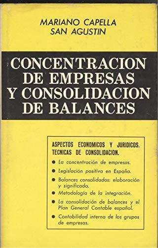 9788425504129: Concentracion de empresas y consolidacion de balances (Biblioteca de direccion, organizacion y administracion de empresas) (Spanish Edition)