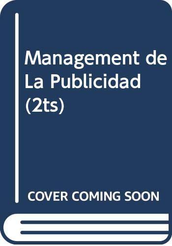 Management de la publicidad (tomo 1) Perspectivas: Aaker, David A.