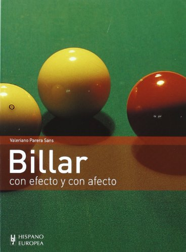 9788425507779: Billar. Con efecto y con afecto (Spanish Edition)