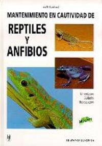 9788425513244: Mantenimiento en cautividad de reptiles y anfibios (Master)