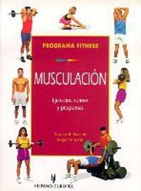 9788425513398: Programa fitness. Musculación