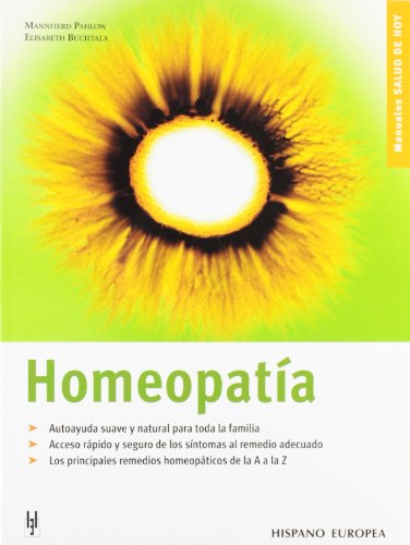 Homeopatia (Spanish Edition): Mannfierd Pahlow, Elisabeth