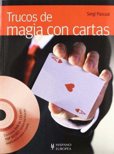 9788425520167: Trucos de magia con cartas (+DVD) (Juegos/Hobbies)