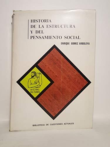 9788425905858: Historia de la estructura y del pensamiento social
