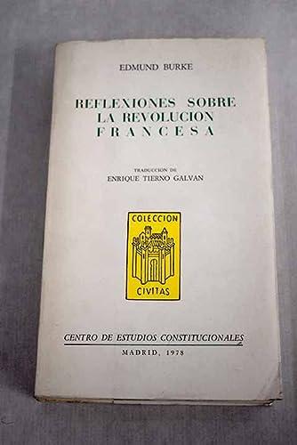 9788425906121: Reflexiones sobre la Revolución Francesa