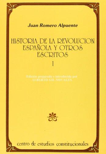 2VOL) HISTORIA DE LA REVOLUCION ESPA?OLA Y: ROMERO ALPUENTE, JUAN