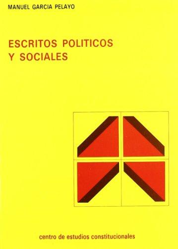 9788425908439: Escritos politicos y sociales