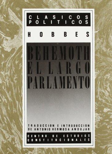 9788425909023: Behemoth. el largo parlamento