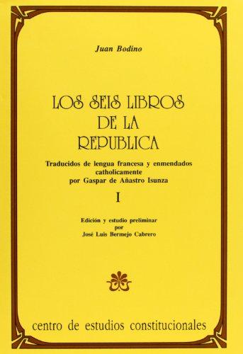 9788425909207: Los seis libros de la republica (2 tomo)
