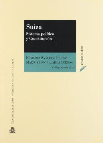 9788425911835: Suiza. sistema politico y constitucion