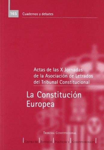 9788425912986: Constitucion europea