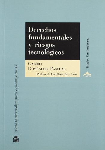9788425913242: Derechos fundamentales y riesgos tecnológicos.: El derecho del ciudadano a ser protegido por los poderes públicos (Estudios Constitucionales)