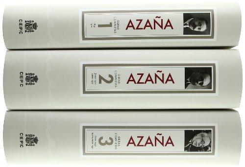 Obras completas.: Azaña, Manuel (1880-1940)