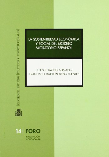 La sostenibilidad económica y social del modelo: Jimeno, Juan F.