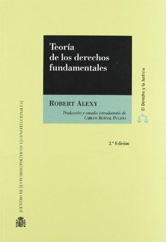 9788425913938: Teoria De Los Derechos Fundamentales (R.T) (2 Ed)