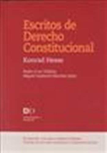 9788425915185: Escritos de derecho constitucional (Democracia y Derecho)
