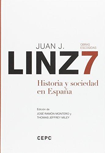 9788425915543: OBRAS ESCOGIDAS, 7. HISTORIA Y SOCIEDAD EN ESPA�A