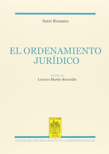 9788425915772: El ordenamiento jurídico