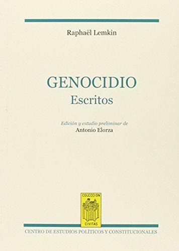 9788425916540: Genocidio: (Escritos) (Cívitas Nueva Época)