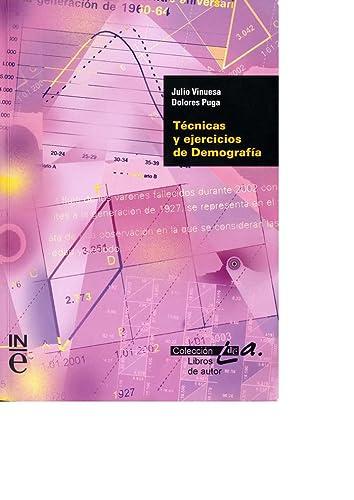 9788426037398: Tecnicas y ejercicios de demografia