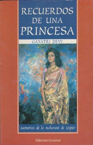 9788426128300: Recuerdos de Una Princesa - Memorias de Maharani