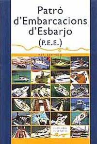 9788426132208: PATRO D'EMBARCACIONS D'ESBARJO (TECNICOS)