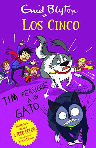 9788426142122: Los cinco: Tim persigue a un gato (Los Cinco Historias Cortas / Famous Five) (Spanish Edition)