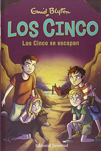 9788426142948: Los cinco # 3: Los cinco se escapan (Los Cinco / Famous Five) (Spanish Edition)