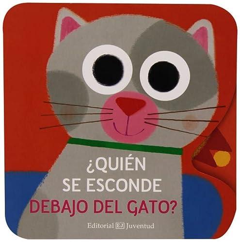Quién se esconde debajo del gato? (Spanish: Albin Michel Jeunesse